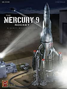Pegasus Hobby Mercury 9 Rocket Model Kit - 9103