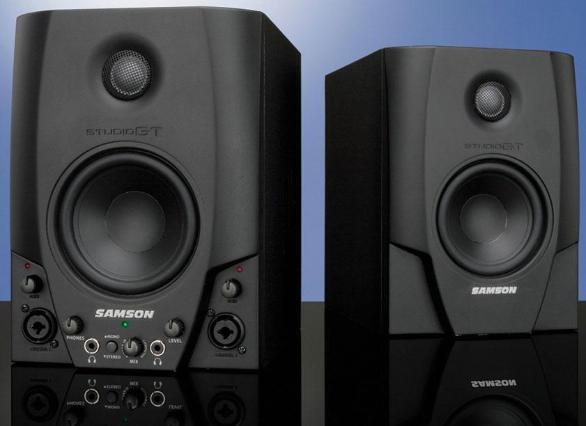 Amazon.com: Samson Studio GT Active Studio Monitors with USB Audio