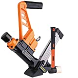 "Freeman PDX50C Lightweight Pneumatic 3-in-1 15.5-Gauge and 16-Gauge 2"" Flooring Nailer and Stapler Ergonomic and Lightweight Nail Gun for Tongue and Groove Hardwood Flooring"