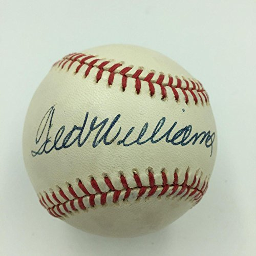 Ted Williams Signed Ball - Nice Official American League COA - JSA Certified - Autographed Baseballs