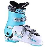 Roces Idea Free G Girls Ski Boots - 22-25/White-Light Blue-Black
