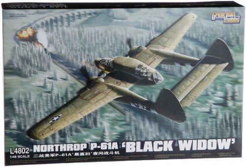 ピットロード 1/48 ノースロップ P-61A ブラックウィドウ L4802の商品画像