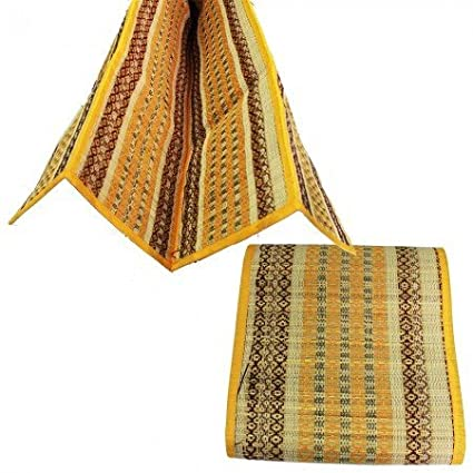 Amazon.com: Sound of Vedas Multi Fold Kusha Mat for Dyana ...
