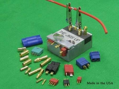 The Jigs Up Soldering Jig for RC Connectors