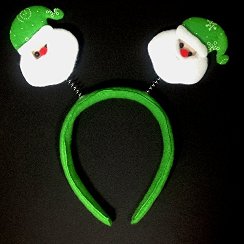 The Tick Halloween Costume For Sale (Christmas Headband Reindeer Antlers Santa Hats : H14 (Santa - Green))