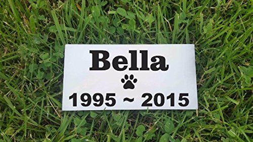 personalised-pet-stone-memorial-marker-white-marble-name-marker-dog-cat-horse-bird-human-3-x-6-custo