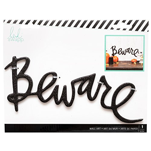 Heidi Swapp 314332 Beware Wall Word, Multicolor for $<!--$7.99-->