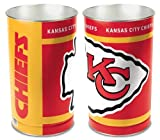 Kansas City Chiefs 15'' Waste Basket