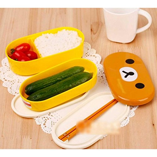 Students Lunch Bento Resistance Chopsticks