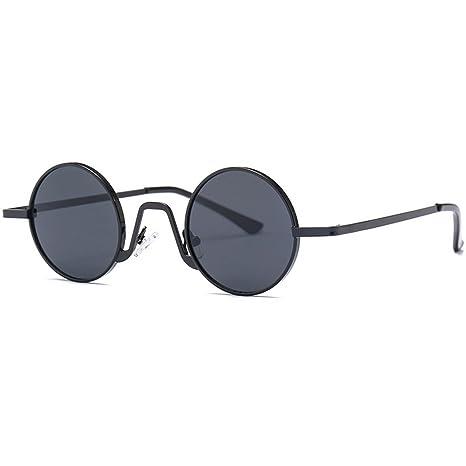 Fansport Occhiali Da Sole Rotondi Occhiali Da Sole Con Montatura In Metallo Occhiali Da Sole Con Lenti A Cerchio Moda Per Viaggi 4gsbzgH