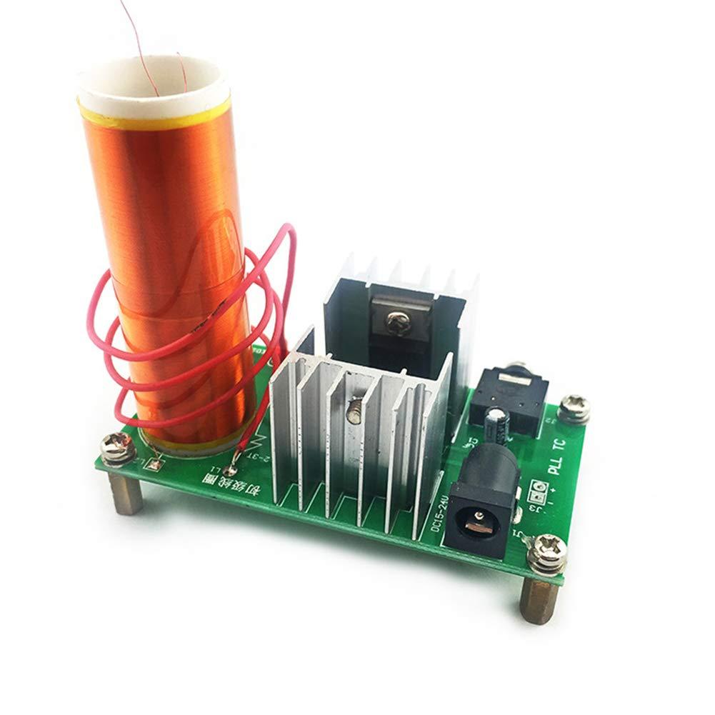 Ocamo DIY Music Tesla Coil Kit Tesla Coil Set Mini Music Plasma Horn Speaker DIY Electronic Component Parts