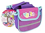 Volta Royal Regalia Saddle Bags Two Main Compartments With Bonus Mesh Pockets  Easily Attaches to Frame  Compatible with Nearly Any Bicycle  Pink, Purple, and Baby Blue