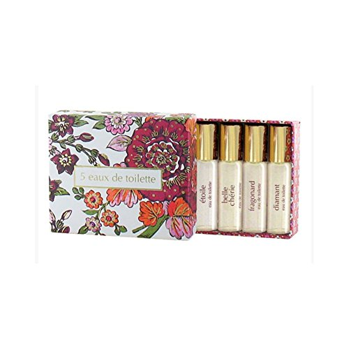 Fragonard 5 Eaux de Toilette Woman Set (5x4ml, 5x0.13 fl - De Parfum Eaux