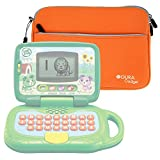 Orange Water Resistant Neoprene Case / Cover for the LeapFrog My Own Leaptop - by DURAGADGET