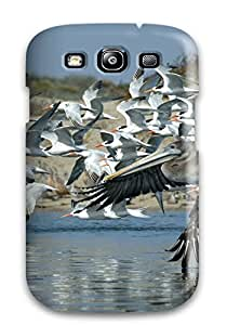 WC6SKENQNNZXCUQ1 Defender Case For Galaxy S3, Bird Pattern