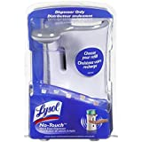 Lysol No-Touch Automatic Hand Soap Dispenser-White- Pack of 2 Dispensers.
