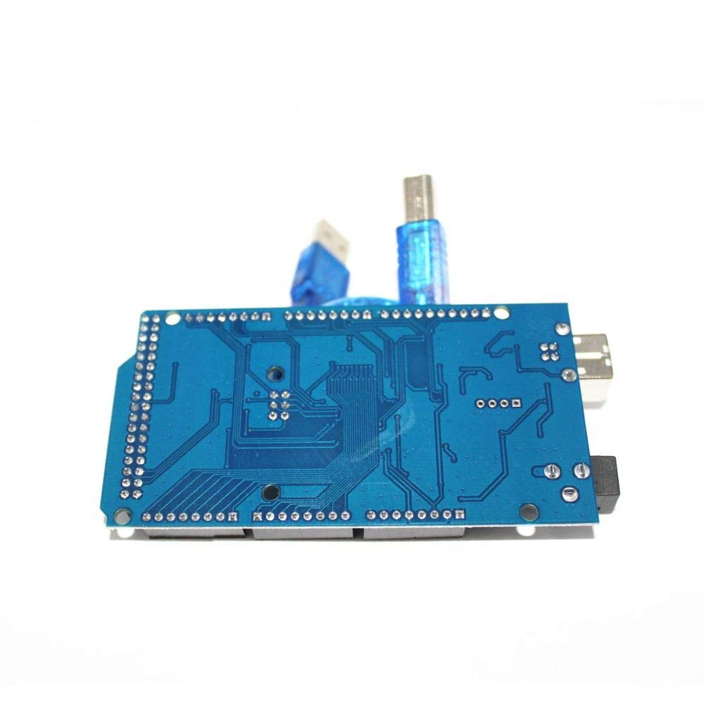5set//LOT Mega 2560 R3 CH340G ATmega2560 AVR USB Board Free USB Cable