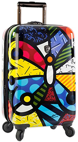 Heys America Multi -Britto Butterfly 21-Inch Carry-on Spinner Luggage by HEYS AMERICA (Image #1)