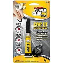 Super Glue 90002-12 Light Curing Glue Zap, Clear