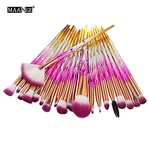 Makeup Brush Sets, ✔ Hypothesis_X ☎ 20PCS Make Up Foundation Eyebrow Eyeliner Blush Cosmetic Concealer Brushes ()