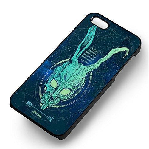 Unique Fear Donnie Darko pour Coque Iphone 5 or Coque Iphone 5S or Coque Iphone 5SE Case (Noir Boîtier en plastique dur) D2O1RG