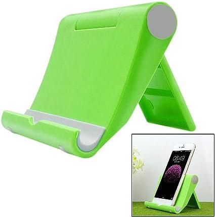 Pouybie Universel Pliable Support pour t/él/éphone Portable Multifonction Rotatif Base MP5/Tablette Ordinateur Support Accessoires