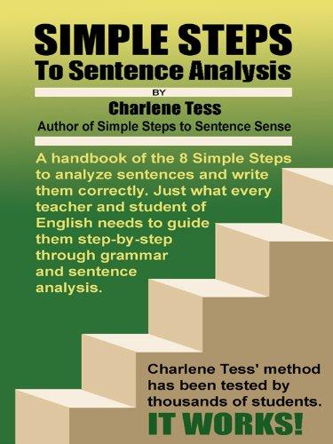 - Simple Steps to Sentence Analysis