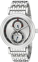 Lucien Piccard Men's LP-10618-22S Polaris Stainless Steel Watch