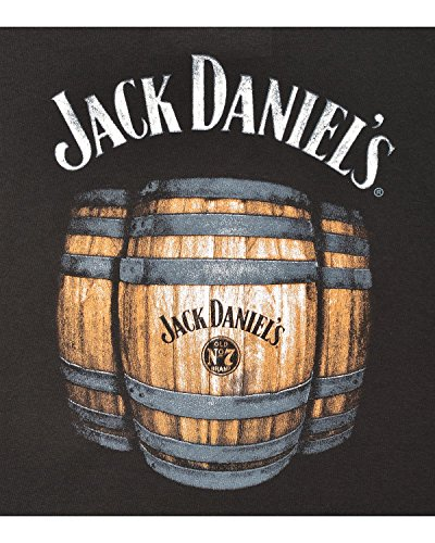 Jack-Daniels-Mens-Daniels-Barrels-T-Shirt-Black-X-Large