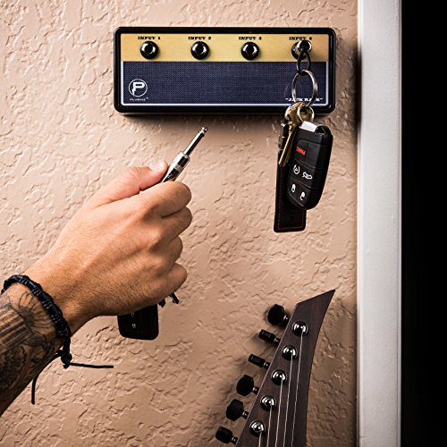 Key Holder | Hang Your Keys Like A Rockstar | By Pluginz Key Chains (Legato & 4 Key Rings) (Jack Rack)