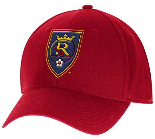 Real Salt Lake Adidas MLS ''Team Basics'' Structured Adjustable Hat by adidas