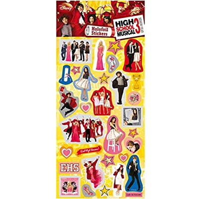 High School Musical 3 - Foil Sticker Pack - Sticker Style: Office Products