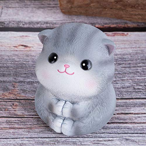 Cute Cat Resin Decoration Creative Car Accessories Japanese-Style Living Room Decorations Desktop furnishings Small Gifts