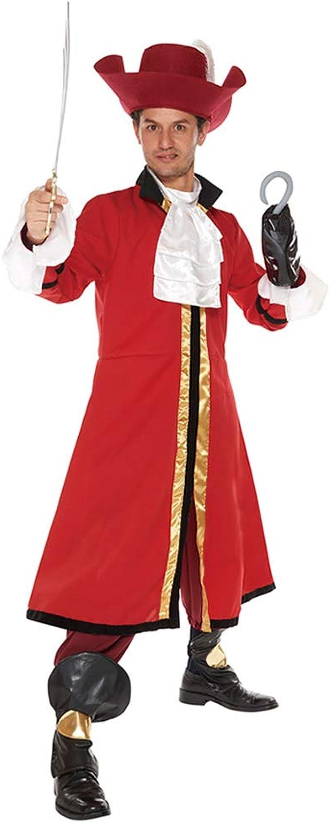 Disfraz de Peter Pan de Disney, Disfraz de Capitán Garfio, tamaño ...