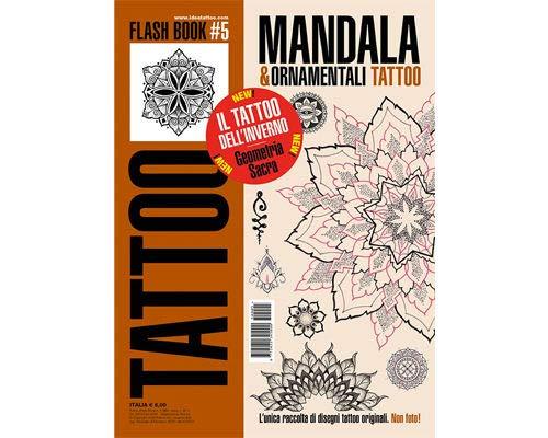 Mandalas & Ornamental Tattoo Flash Geometrical Design Book 64-Pages from WorldWide Tattoo Supply