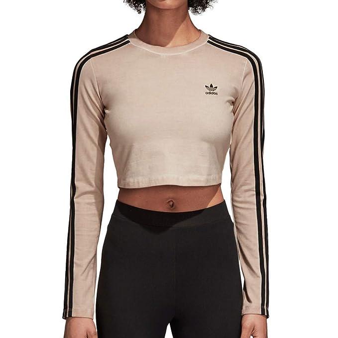 611ab51b1c Adidas Women Originals Long Sleeve Crop Top