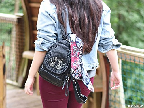 72462075f3 Katloo Mini Backpack For Women Small Soft Washed Leather Backpacks Girls  Casual Daypack Shoulder Chest Bag