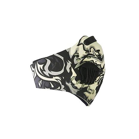 Máscara de Bicicleta de Carbono Activado contra la contaminación Máscara de  Bicicleta de Carretera MTB Half 64917e4a630d7