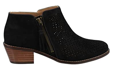 Vionic Joy Daytona - Womens Heeled Bootie Black - 5