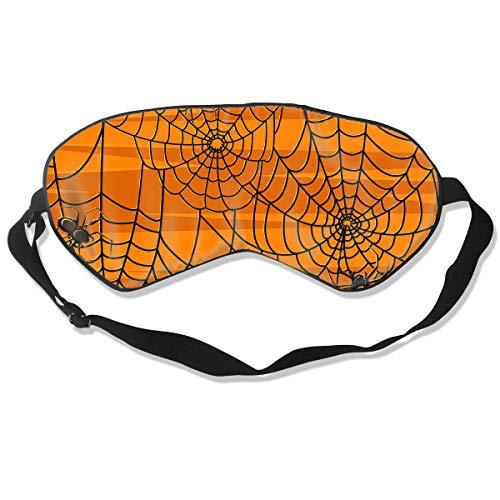 (Mr.Roadman 100% Silk Sleep Mask Comfortable Sleeping Eye Mask - Scary Halloween Spiders Graphics Sleep Eyes Covers for Travelling, Night Noon Nap, Mediation Or)