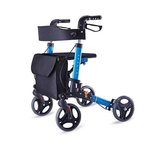 Andadores estándares y ligeros Rollator Andador For Ancianos ...