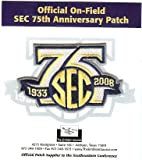 2008 SEC 75th Anniversary Patch - Official NCAA Licensed