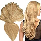 200g Real Triple Weft Extra Thick Clip in 100% Remy Human Hair Extensions