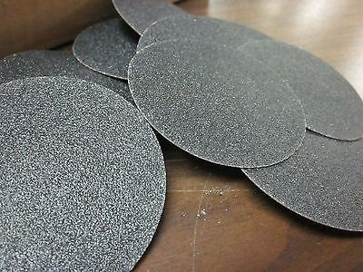"""10pc 3"""" 80 GRIT ROLOC COOKIE DISCS SILICON CARBIDE SANDING DISC ROLL LOCK TYPE R from Neiko"""