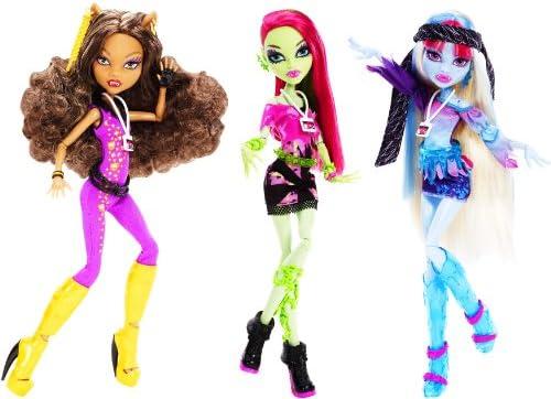 Amazon Com Monster High Music Festival Venus Mcflytrap Doll Toys Games