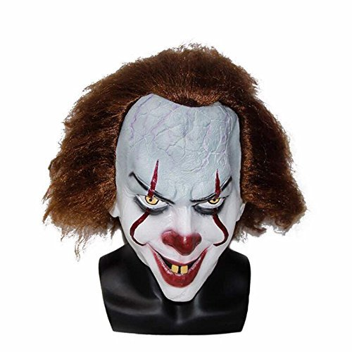 IT Halloween Pennywise Mask - Clown Masks For Kids