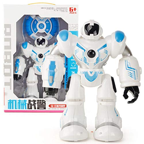 Neudas Toddler RC Intelligent Robot LED Gesture Induction Dancing Robot Kids Toy Toy Gift Sets from neudas