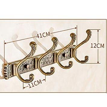 Perchero de montaje en pared Leqi Escudo europeo Gancho de ...