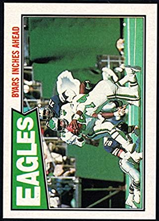 5aa25fa09e5 Amazon.com: Football NFL 1987 Topps #294 Keith Byars TL NM-MT+ ...