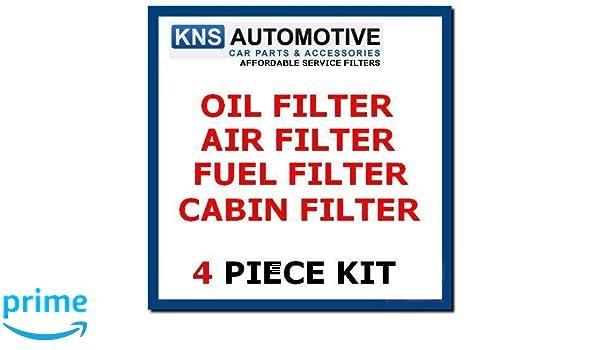 XC90 2.4 D5 Diesel 06-13 Kit de servicio de filtro de aceite, aire, combustible y cabina VOL7c: Amazon.es: Coche y moto